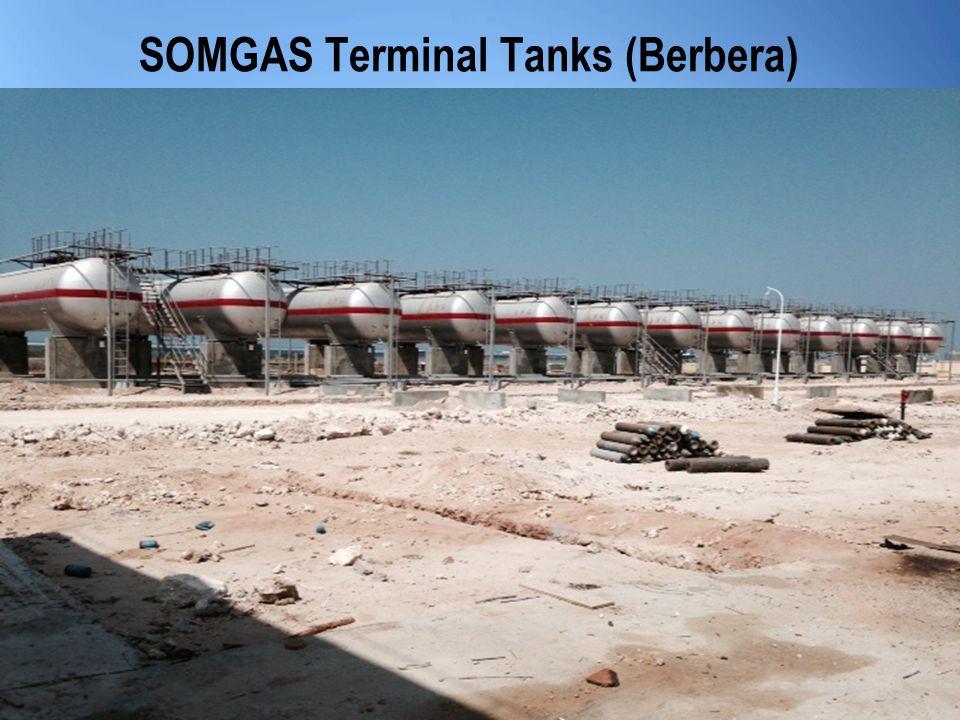SOMGAS Terminal Tanks (Berbera)