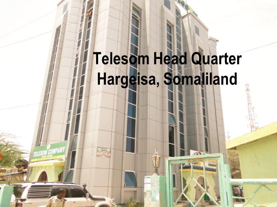 Telesom Head Quarter Hargeisa, Somaliland
