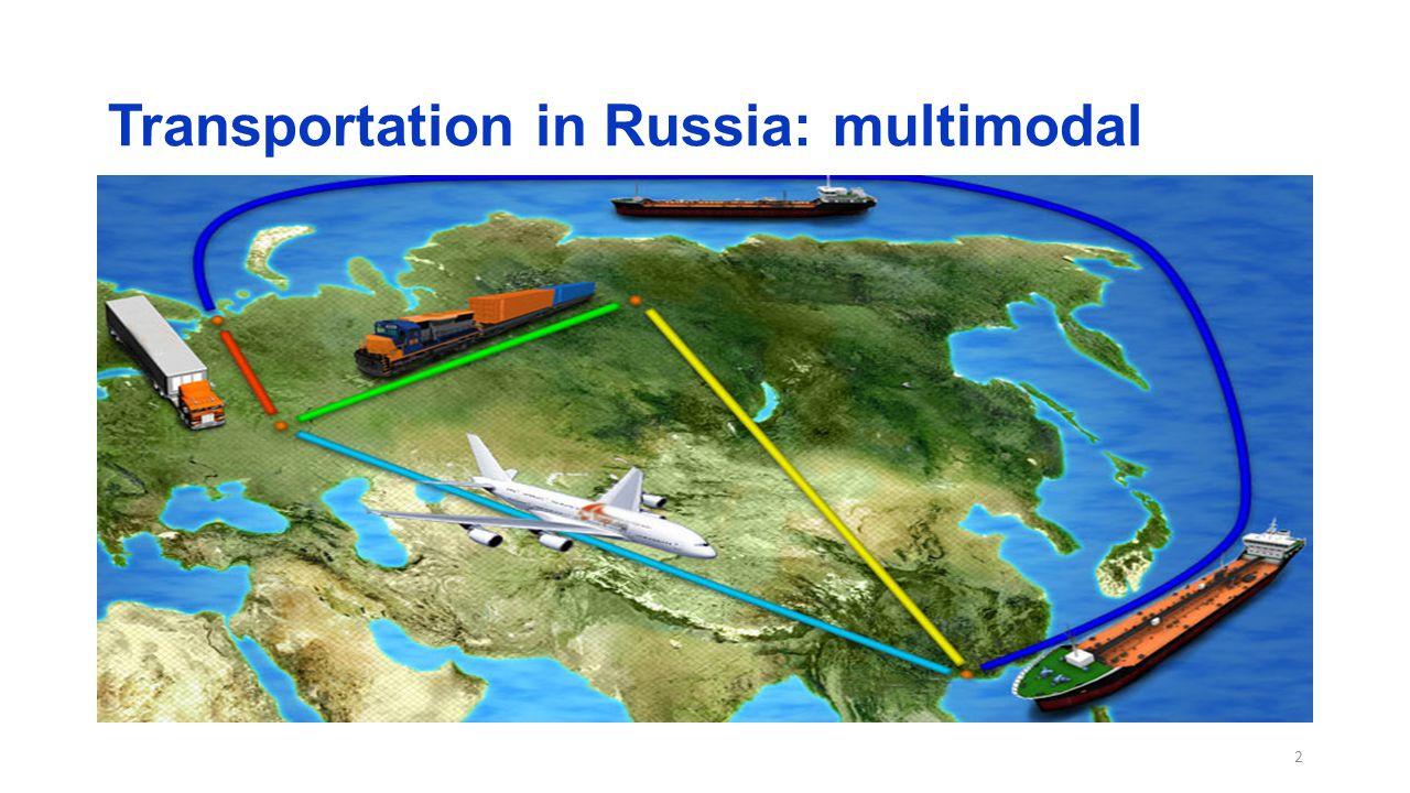 Transportation in Russia: multimodal 2
