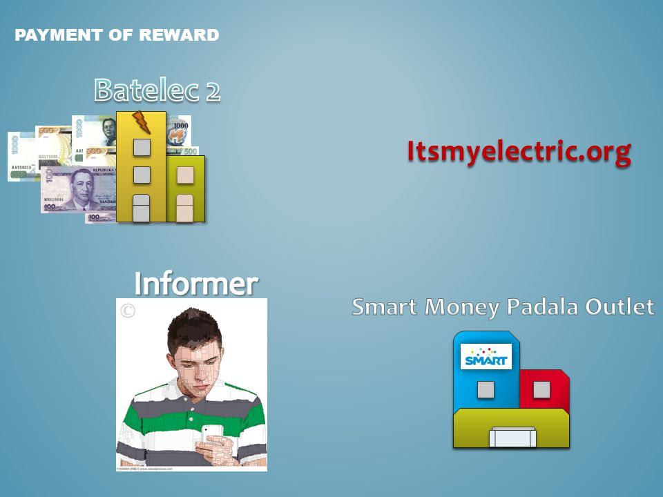 PAYMENT OF REWARD Itsmyelectric.org