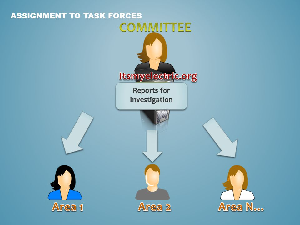TASK FORCE INVESTIGATION & REPORT TO MANAGEMENT