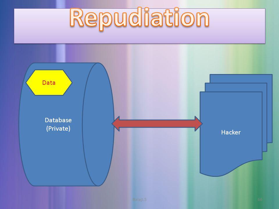 Balaji.S66 Database (Private) Hacker Data