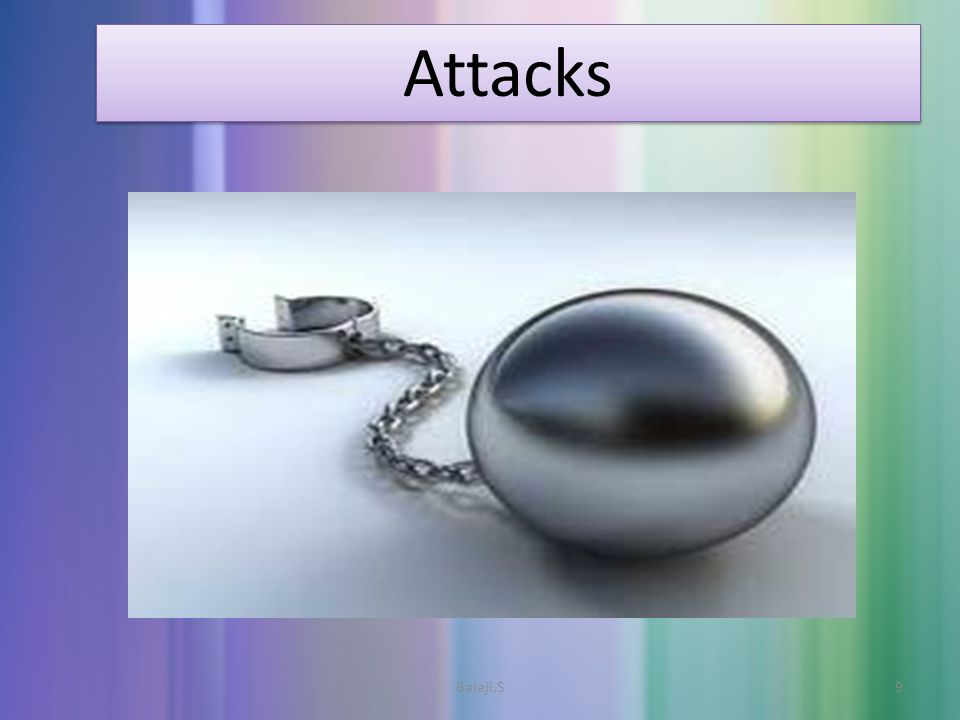 Attacks Attacks 9Balaji.S