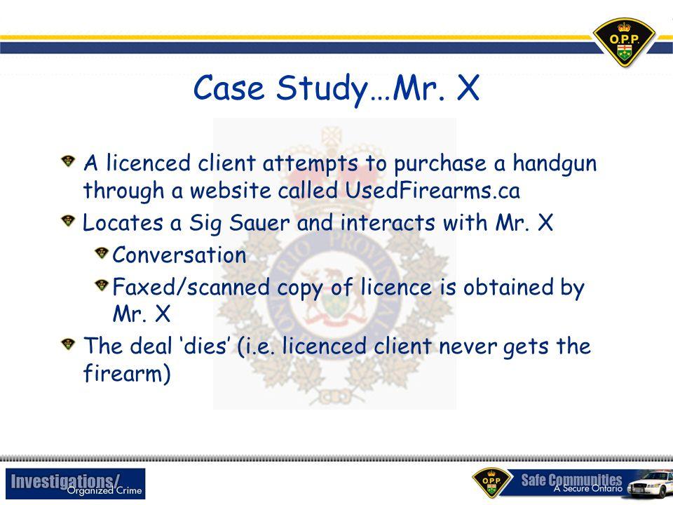 Case Study…Mr.