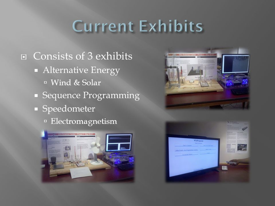  The room is designed to allow for the addition and removal of exhibits with ease.