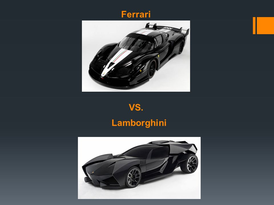 Lets Look at the Ferrari Enzo  The Ferrari is a very fast vehicle. It is also very stylish.