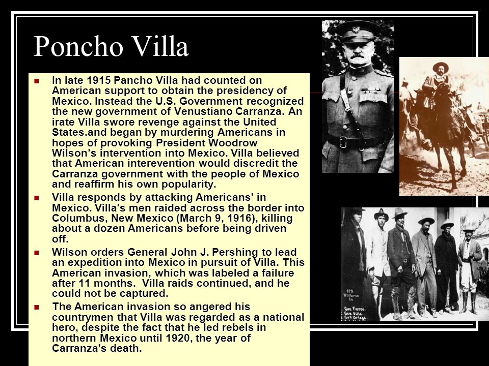 General Pershing and the Search for Pancho Villa (2:00)