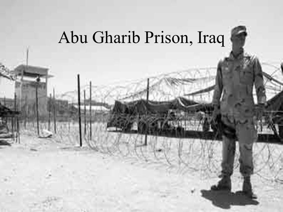 Abu Gharib Prison, Iraq