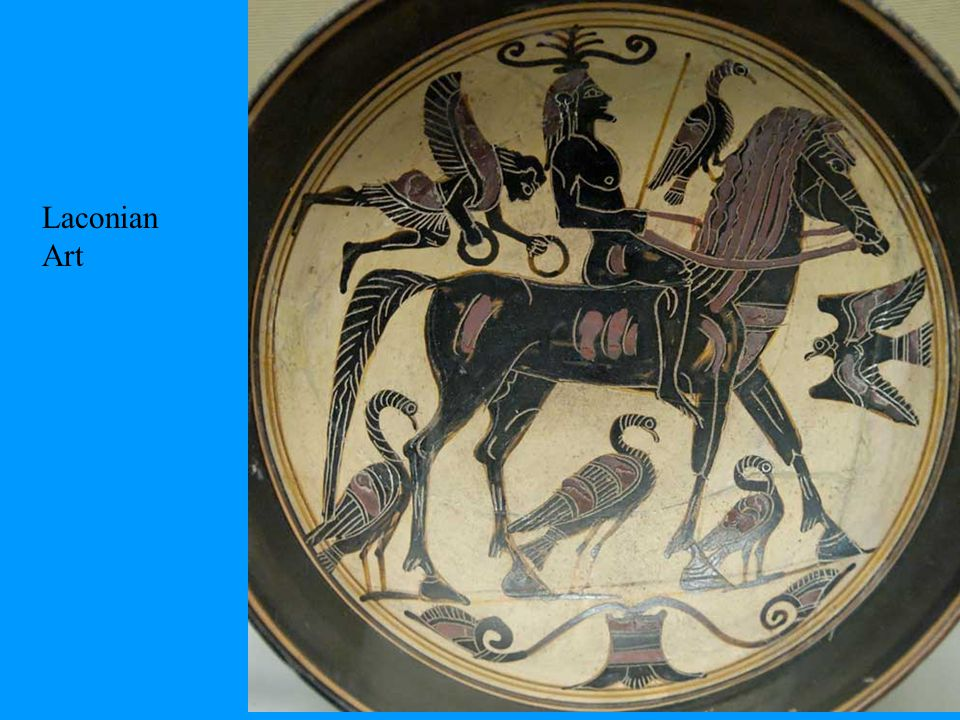 Early Archaic Age development Along same lines as other poleis, state controlled by kings and ruling elite 725 BC Spartans mounted Taygetus Mts.