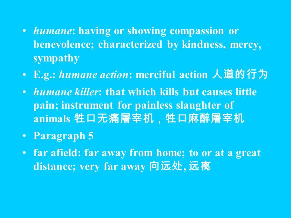 Paragraph 4 human vs.