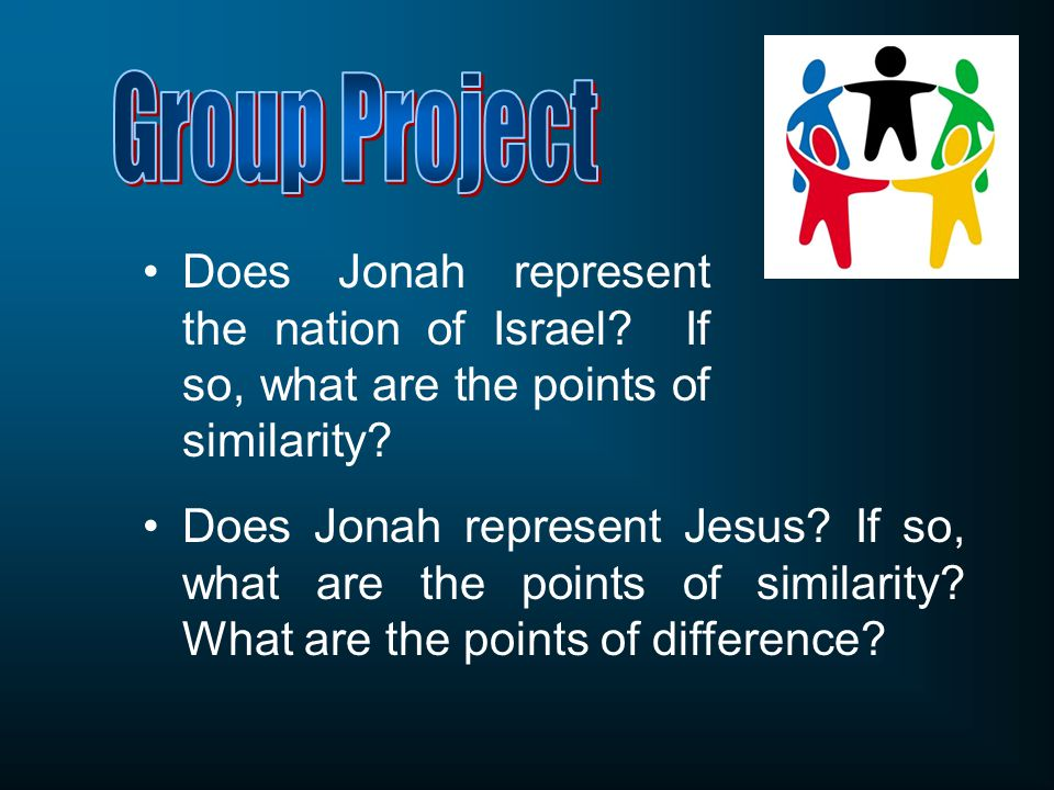 Does Jonah represent the nation of Israel. If so, what are the points of similarity.
