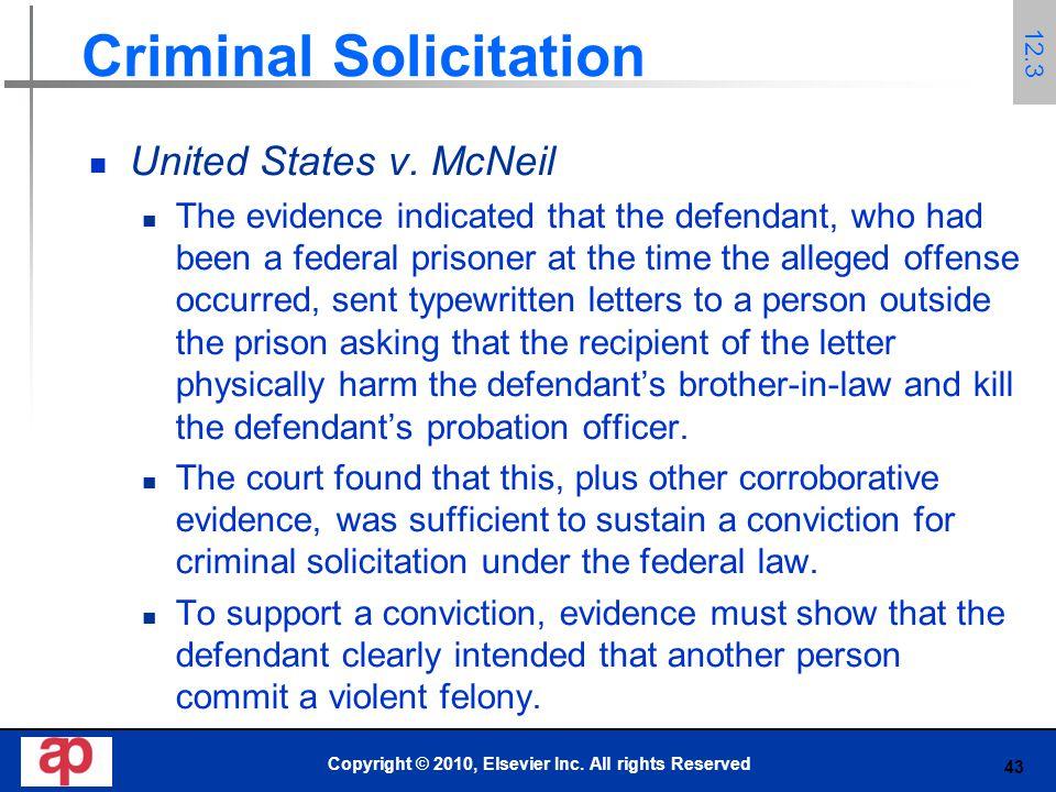 43 Criminal Solicitation United States v.