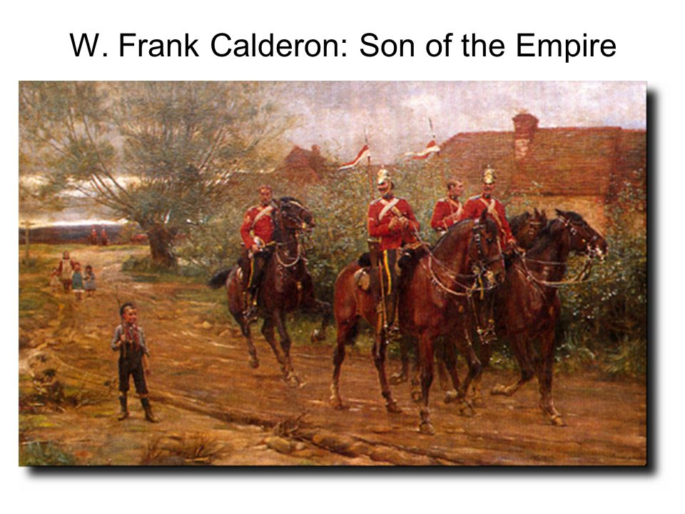 W. Frank Calderon: Son of the Empire
