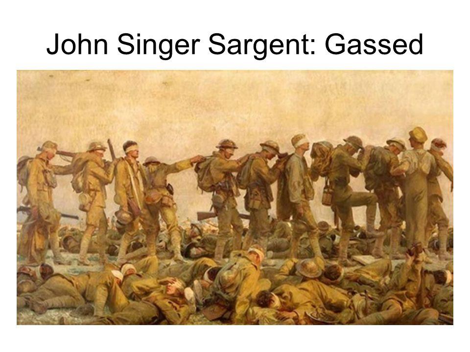 John Singer Sargent: Gassed