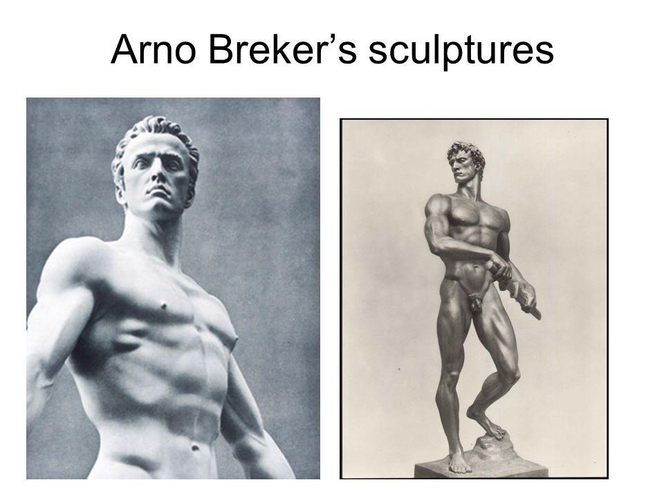 Arno Breker's sculptures