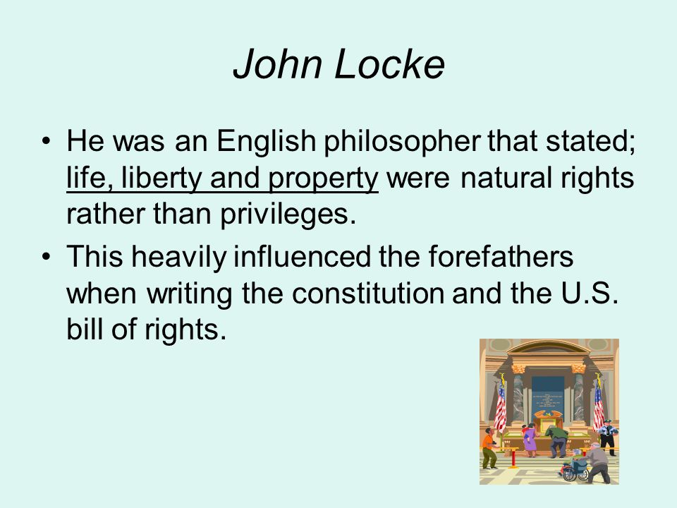 Basic Concept of Government that Influenced the Colonies Ordered Government; to provided an orderly regulation with one another(sheriff, justice of the peace….) Limited Government; gov.