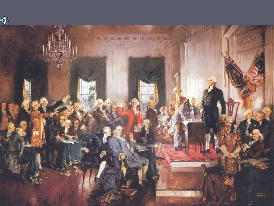 The Constitutional Convention ► Original purpose was to slightly edit the Articles of Confederation ► What ended up happening was a secret meeting whe