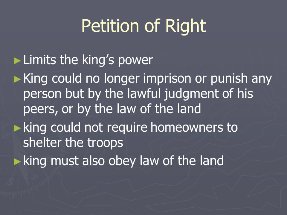 Leading Up to the Declaration ► The Magna Carta (1215)  First document to ever limit the power of a king  Guaranteed some rights of citizens – king