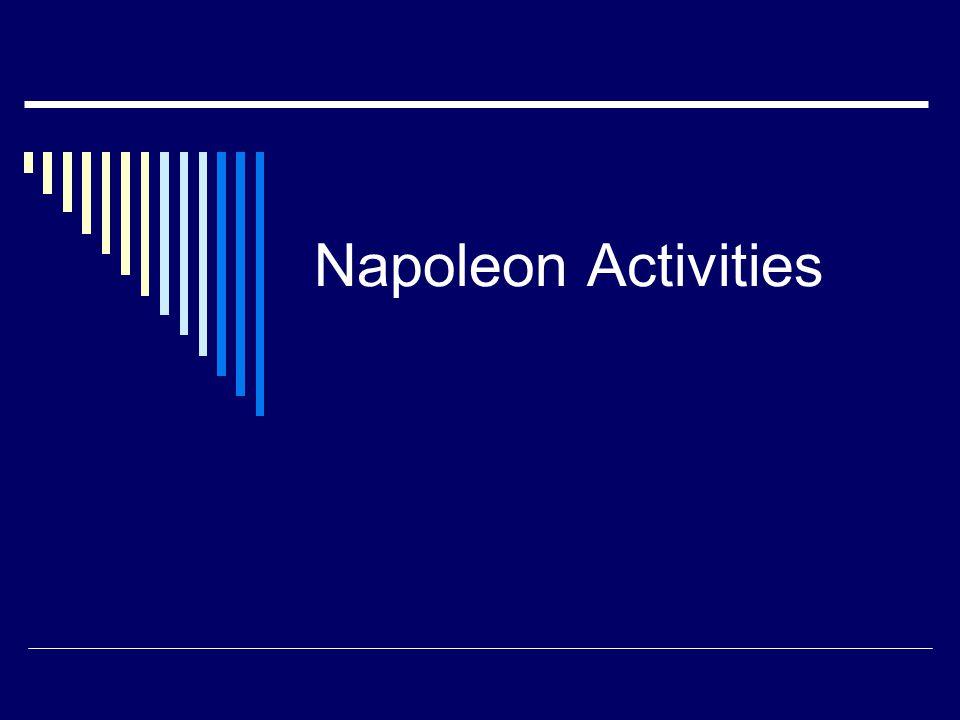 Napoleon Activities