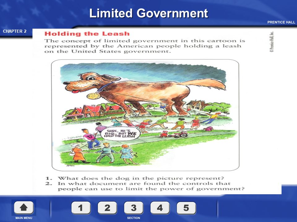 CHAPTER 2 The way our government works today can be traced to important documents in history: Important English Documents
