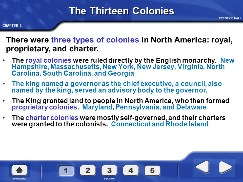 CHAPTER 2 New England Colonies