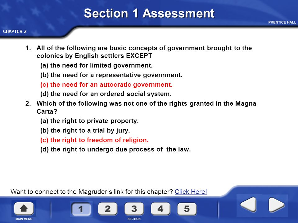 CHAPTER 2 The Coming of Independence QUESTIONS AND TERMS Chapter 2 Section 2 Who controlled the colonies.
