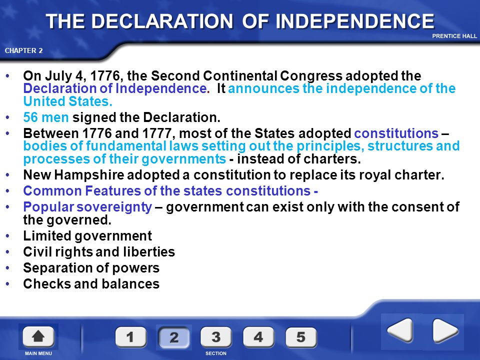 CHAPTER 2 Second Continental Congress