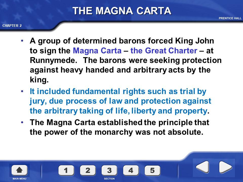CHAPTER 2 Magna Carta