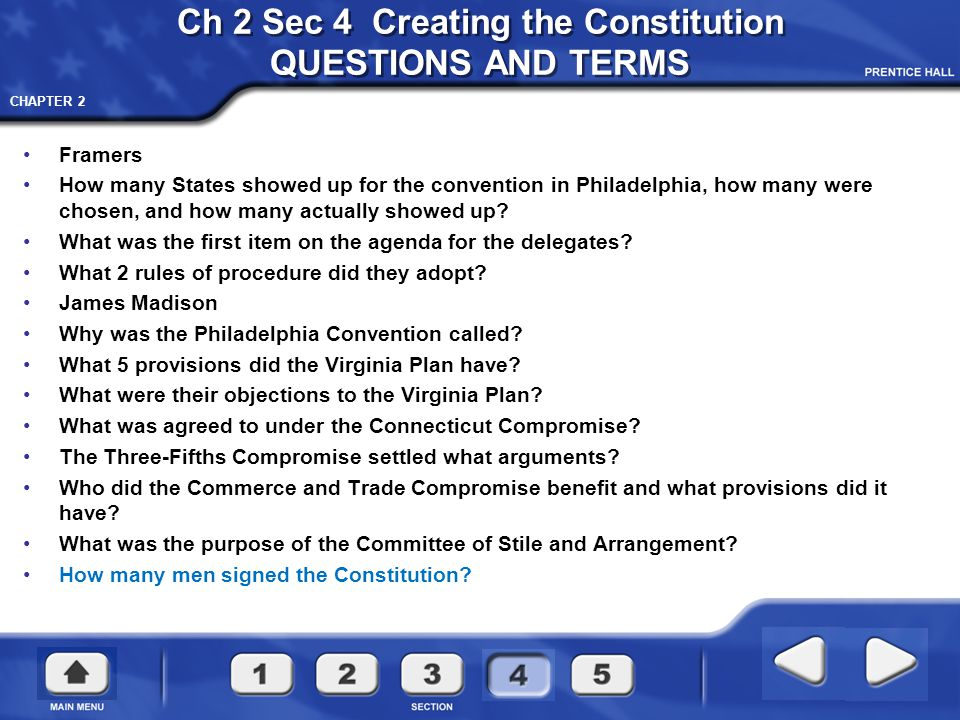 CHAPTER 2 The Constitutional Convention
