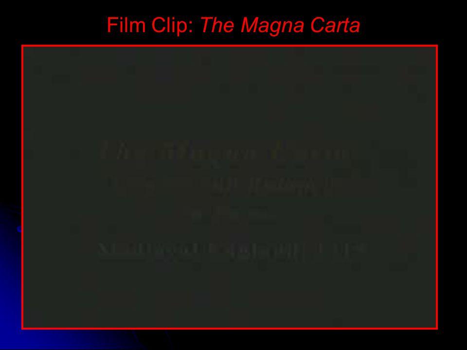 King John The Magna Carta