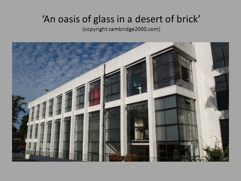 'An oasis of glass in a desert of brick' (copyright cambridge2000.com)