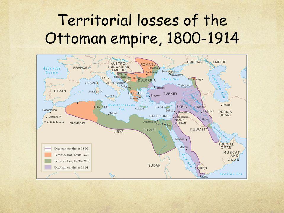 Territorial losses of the Ottoman empire, 1800-1914