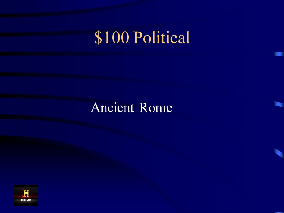 $100 Political The fall of this empire led to the period of European history known as the Middle Ages or Medieval Times.