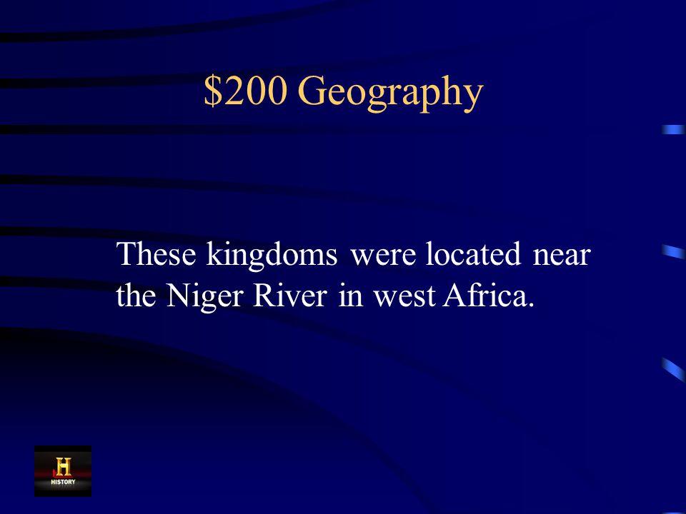 $100 Geography Sahara Desert