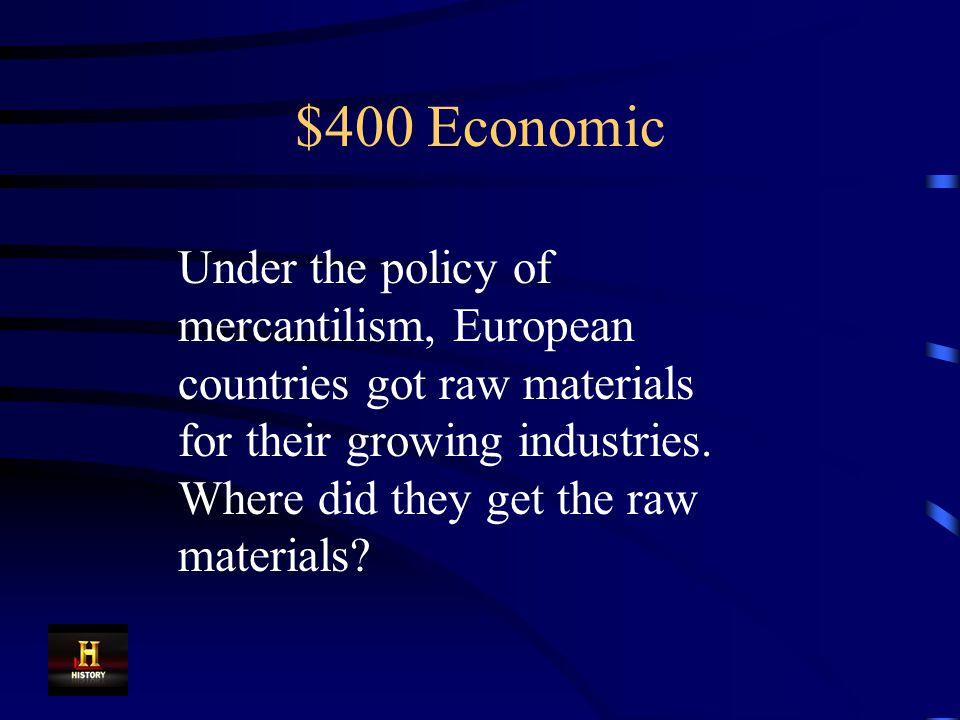 $300 Economic Capitalism