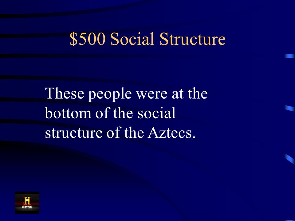 $400 Social Structure Commoners