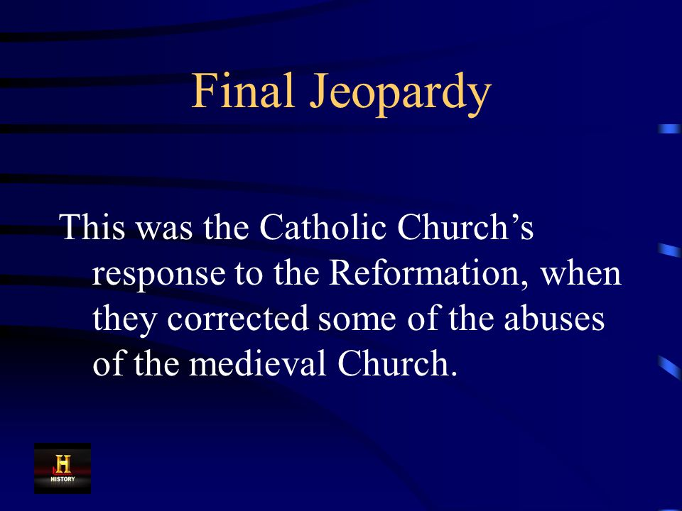 Final Jeopardy Answer The Enlightenment
