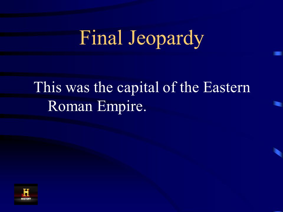 Final Jeopardy Answer Aztec Empire