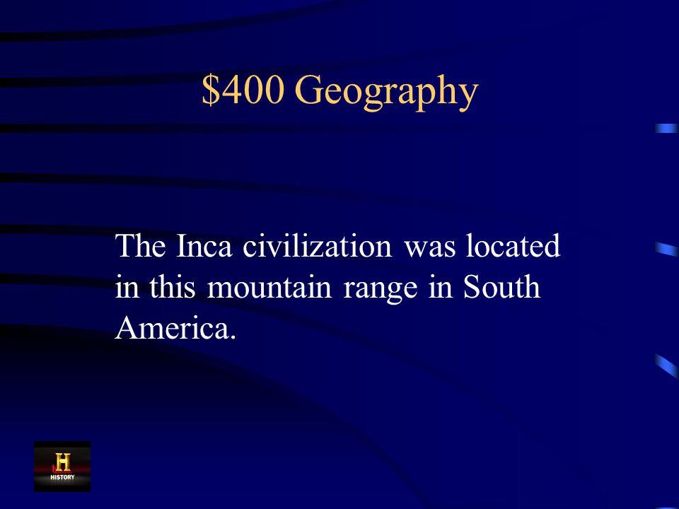 $300 Geography Islam