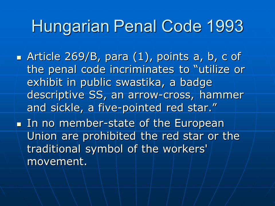 Is the Hungarian measure proportionate to the aim pursued.