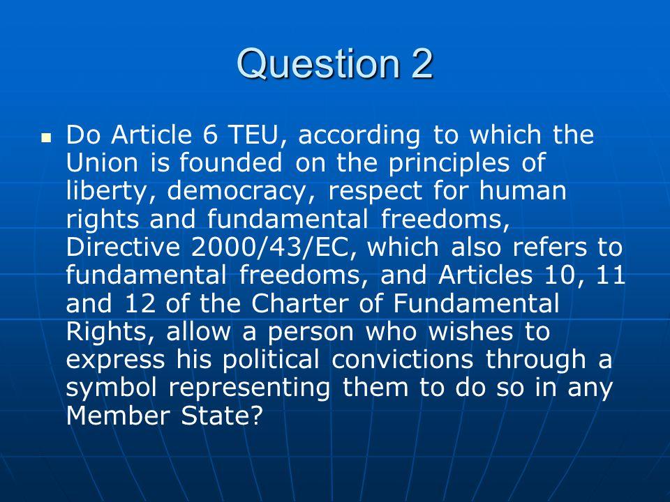 Effective legal protection Leerlaufende Rechte.