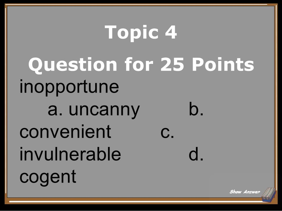Topic 4 Answer for 20 Points Implant Back to Board