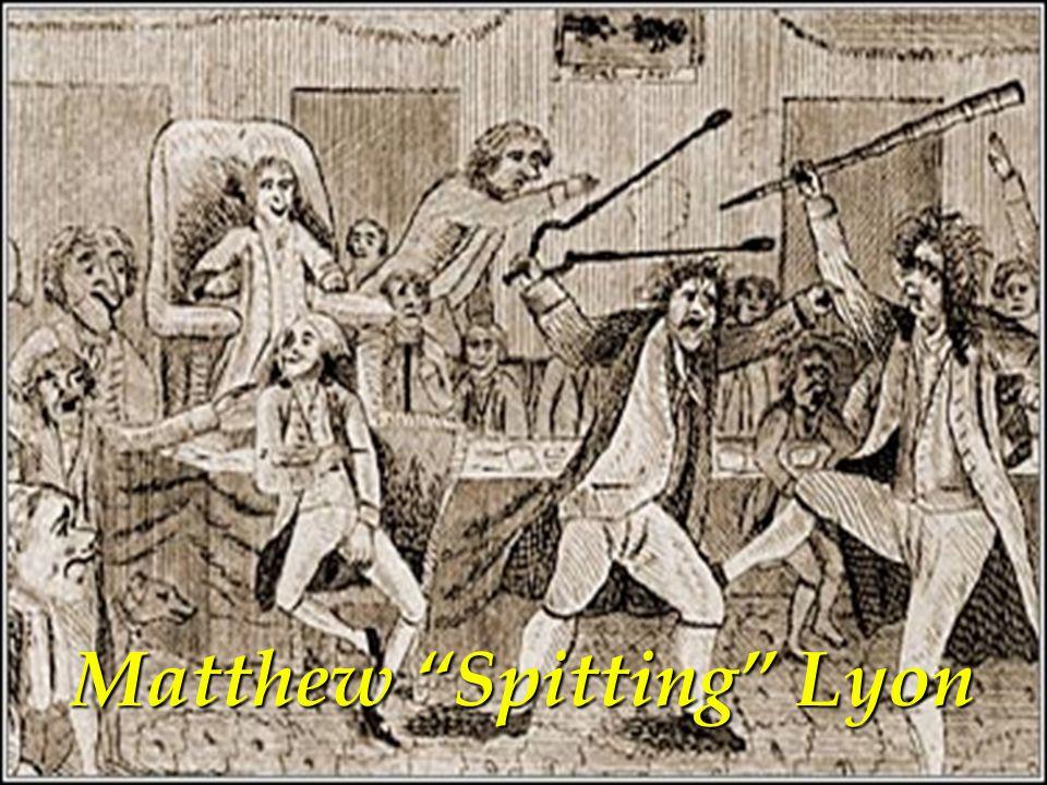 Matthew Spitting Lyon