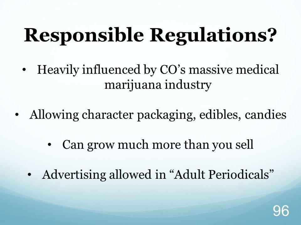 Responsible Regulations.
