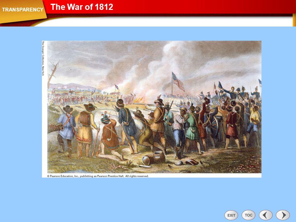 The War of 1812 Transparency: The War of 1812 TRANSPARENCY