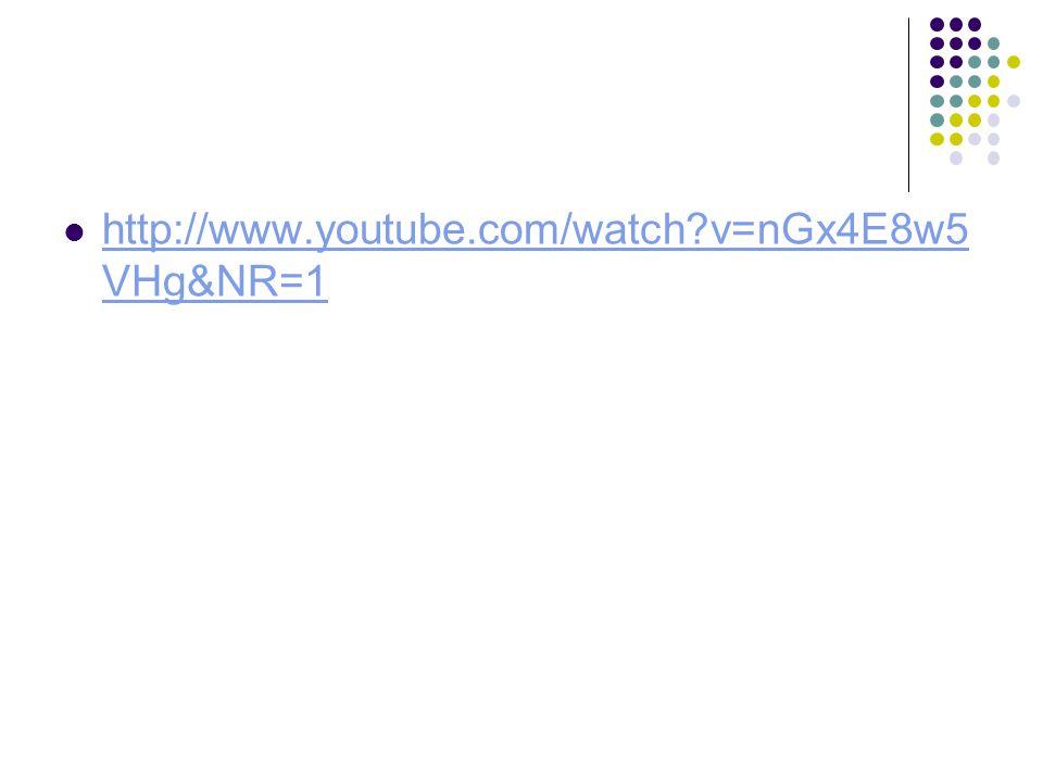 http://www.youtube.com/watch?v=nGx4E8w5 VHg&NR=1 http://www.youtube.com/watch?v=nGx4E8w5 VHg&NR=1