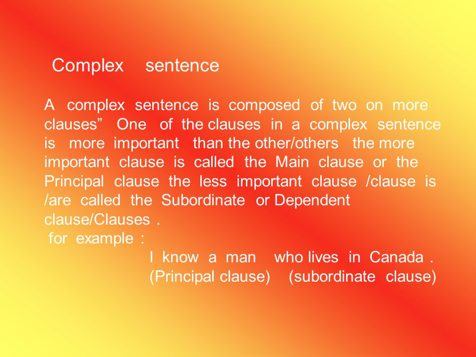 Compound sentence A compound sentence is composed of two on more co-ordinate clauses. For example: Gurpreet loves Mathematics but simran hates it. (Co