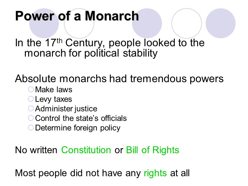 Age of Absolutism Unit Project Task: Students will work with a partner to research an assigned monarch and create a project to present to the class.
