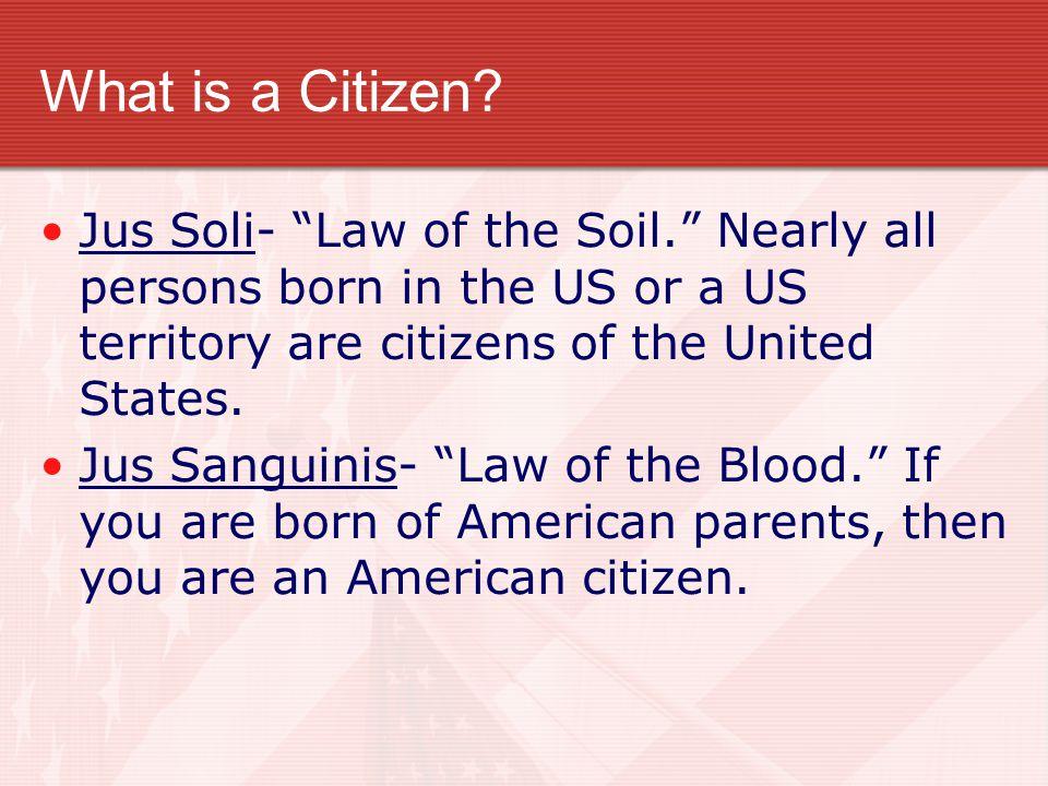 Representative Democracy The US has a Representative Democracy.