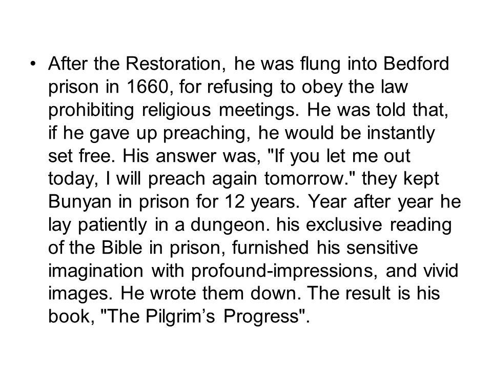 Part two.The Pilgrim's Progress 2.1.